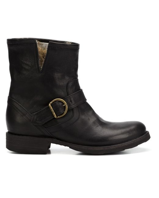 Fiorentini + Baker   Black Eli Low Boot   Lyst