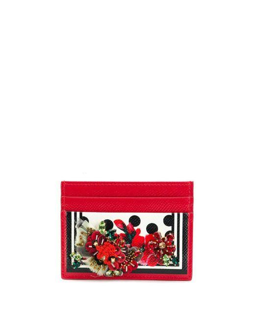 Dolce & Gabbana カードケース Red