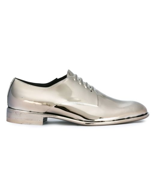 Maison Margiela | Gray Molded Lace-up Effect Shoes for Men | Lyst