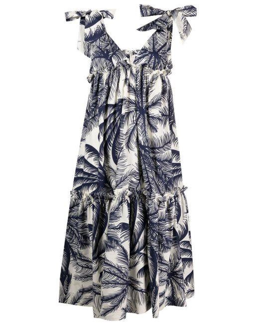 P.A.R.O.S.H. Coronilla ドレス Blue