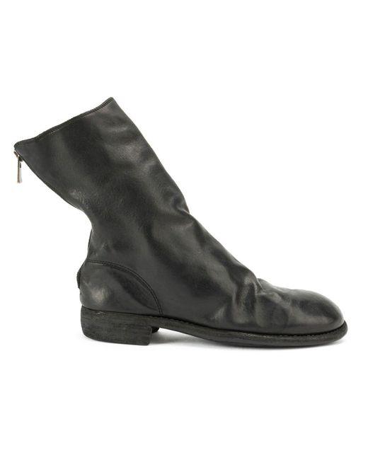 Guidi Multicolor Rear Zip Boots for men