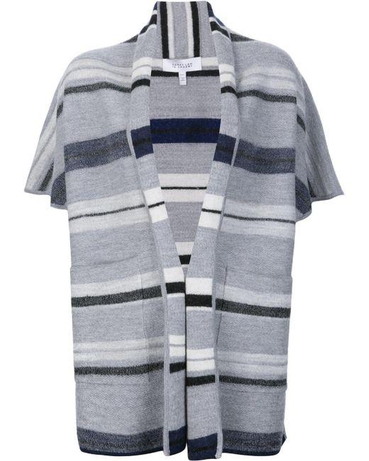 10 Crosby Derek Lam | Black Shortsleeved Blanket Cardigan | Lyst