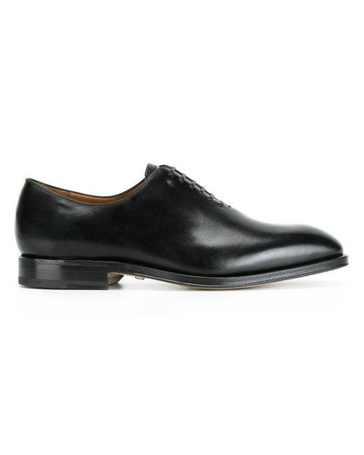 Ferragamo | Black 'carmelo' Oxford Shoes for Men | Lyst