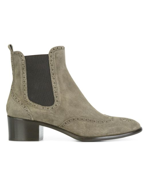 un tzer classic chelsea boots in gray lyst. Black Bedroom Furniture Sets. Home Design Ideas