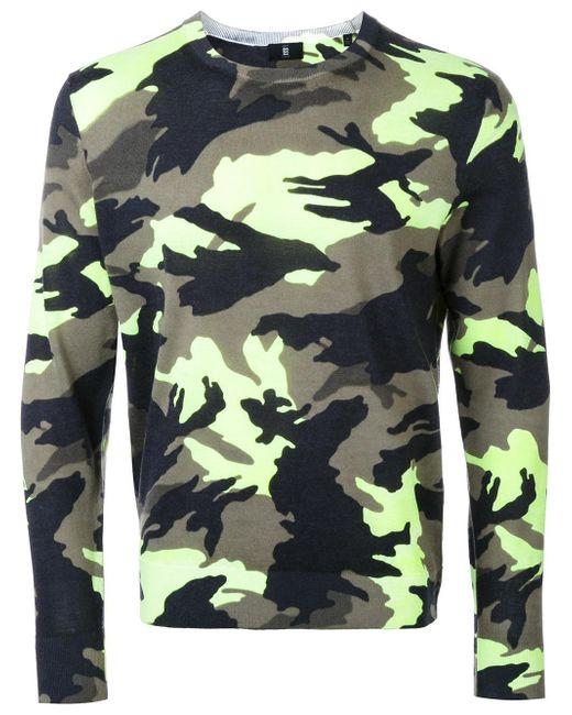 Kent & Curwen | Green Camouflage Slim-fit Jumper for Men | Lyst