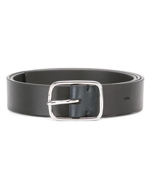 Paul Smith | Black Silver-tone Hardware Belt for Men | Lyst