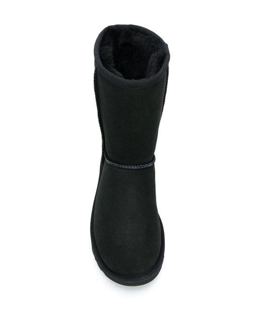 Ugg Classic Short Ii - Zwarte Laarzen in het Black