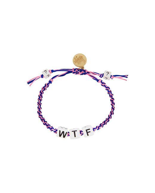 Venessa Arizaga | Multicolor 'wtf' Bracelet | Lyst