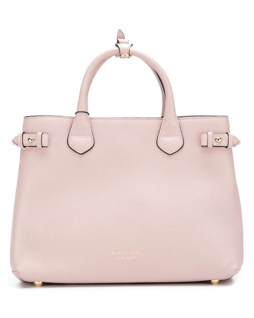 Burberry | Pink 'house Check' Tote | Lyst