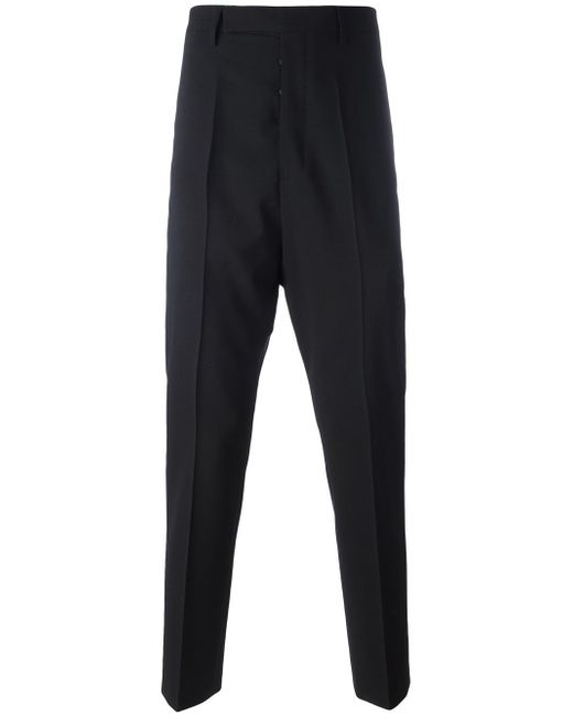 Rick Owens | Black Tapered Trousers for Men | Lyst