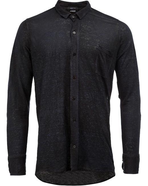 Avant Toi | Blue Linen Shirt for Men | Lyst