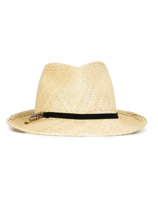 Stella McCartney | Natural Panama Hat | Lyst