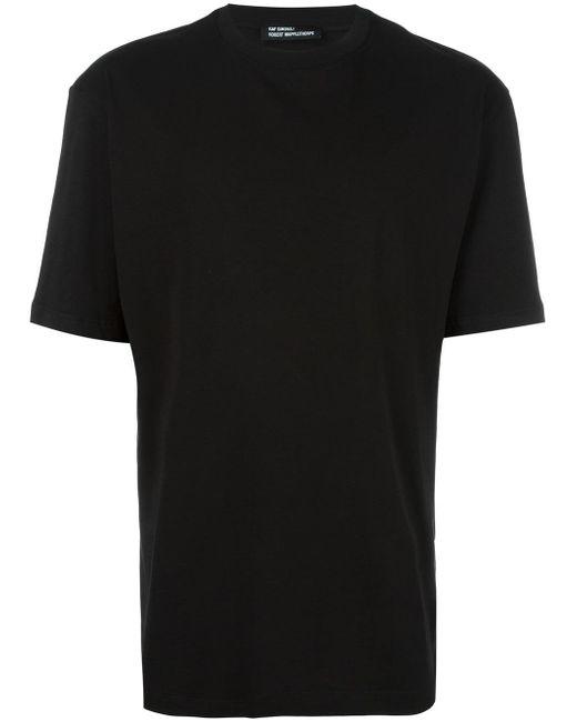 Raf simons robert mapplethorpe print t shirt in black for for Raf simons robert mapplethorpe shirt