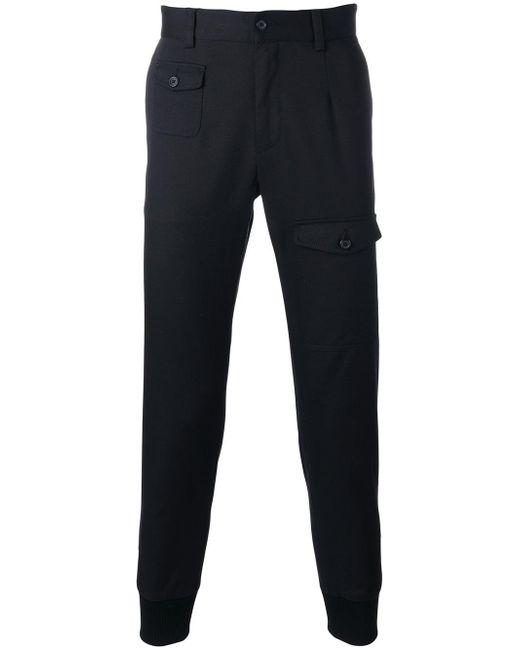 Dolce & Gabbana | Black Pocket Trousers for Men | Lyst