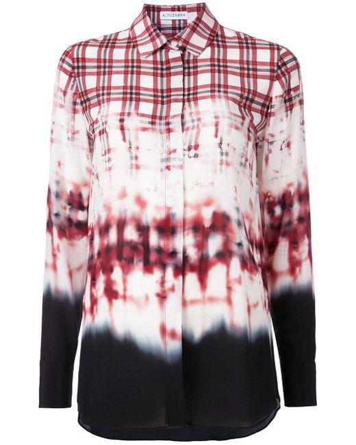 Altuzarra | Red Plaid Shirt | Lyst
