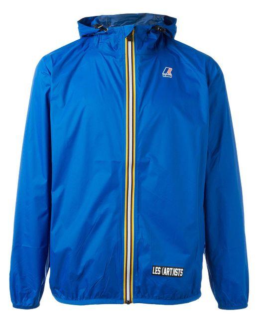 LES (ART)ISTS | Blue K-way X Les (art)ists Logo Patch Jacket for Men | Lyst