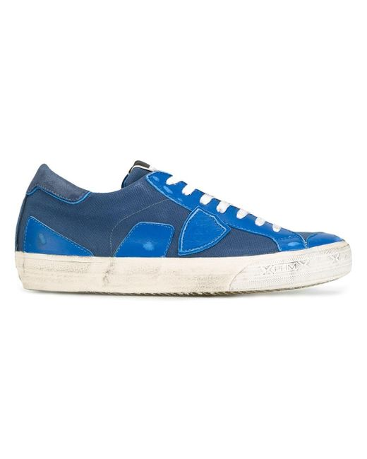 Philippe Model | Blue Bercy Sneakers for Men | Lyst
