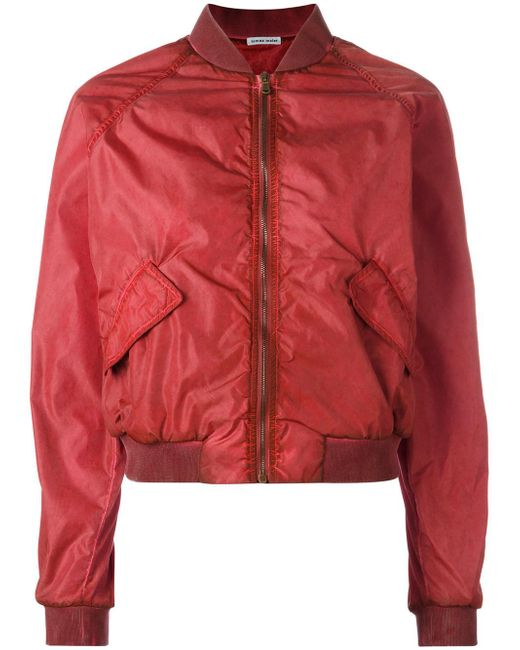Tomas Maier | Red Classic Bomber Jacket | Lyst