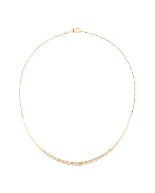 Tejen | Metallic Capstone Pavé Fluted Collar | Lyst