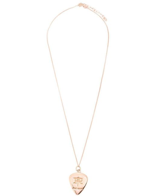 True Rocks - Metallic 'plectrum' Necklace - Lyst