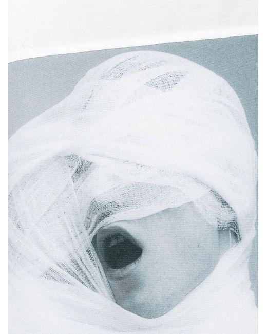Raf Simons X Robert Mapplethorpe Oversized Shirt In White