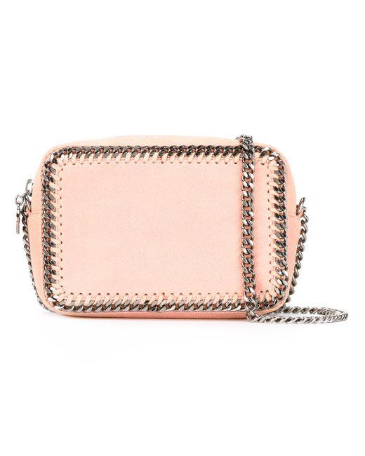 Stella McCartney | Pink Chain-detail Crossbody Bag | Lyst