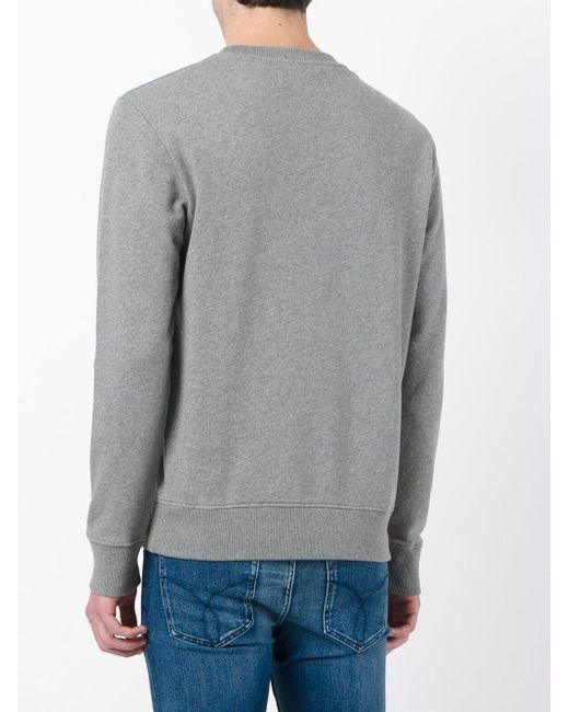 Calvin Klein Jeans Logo Print Jumper Men Cotton M
