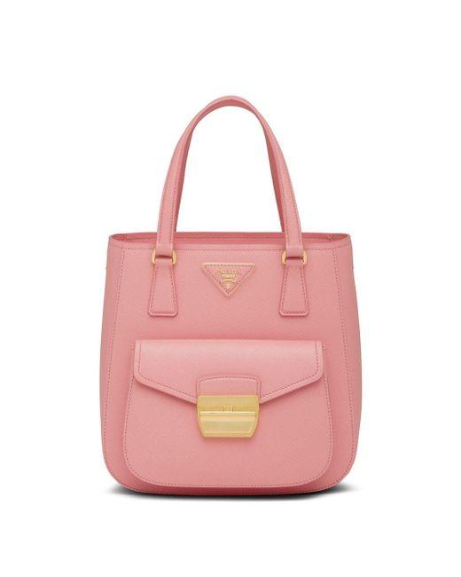 Prada メトロポリス ハンドバッグ Pink