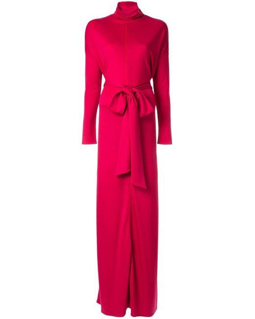 LAYEUR リボン ドレス Pink