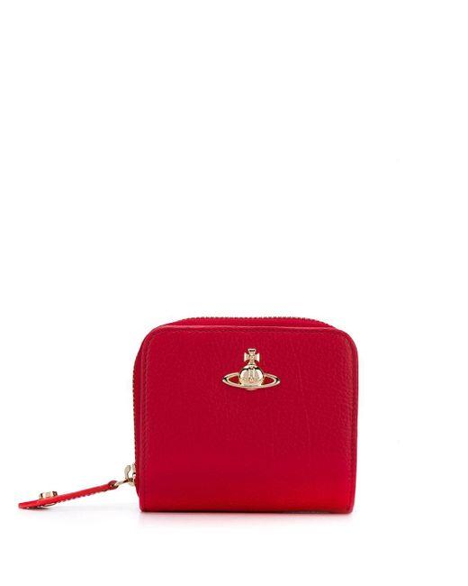 Vivienne Westwood ファスナー財布 Red
