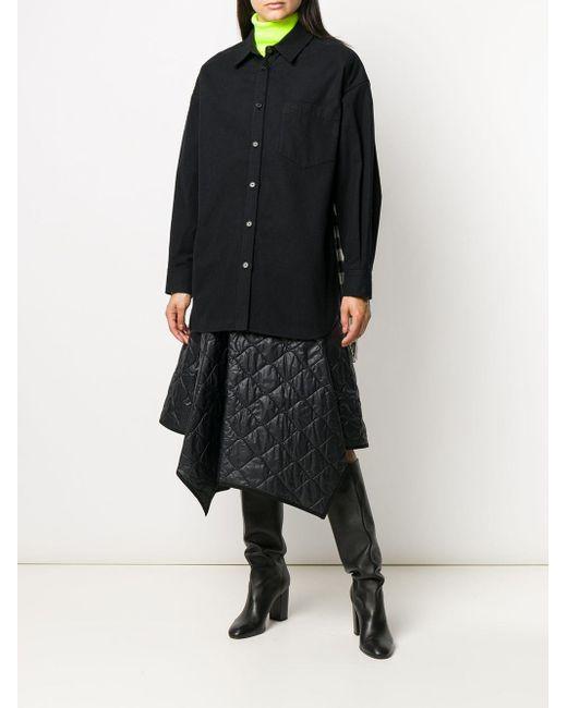 Juun.J チェック パターンシャツ Black