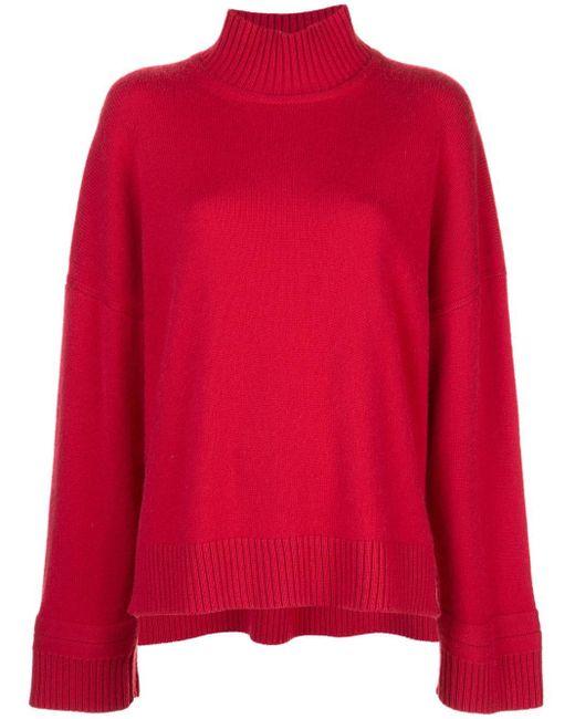 Rosetta Getty オーバーサイズ セーター Red