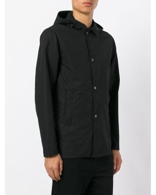 Hooded Rain Jacket Men