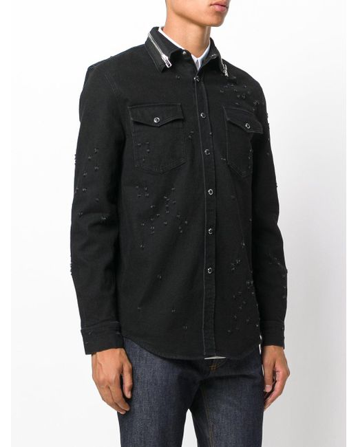 4e78374c7db Givenchy Denim Shirt Mens