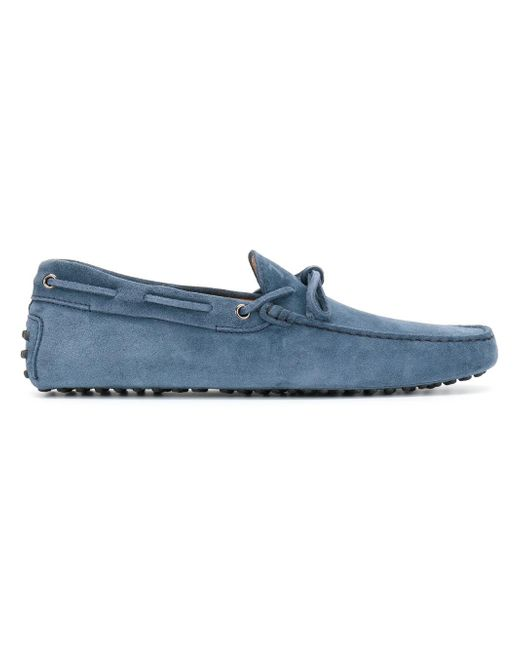 Tod's | Blue Classic Loafers for Men | Lyst