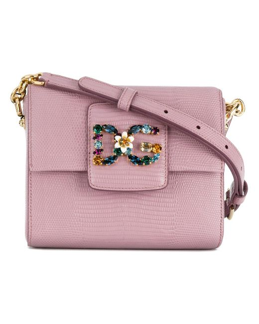 Dolce & Gabbana | Pink Dg Millennials Shoulder Bag | Lyst