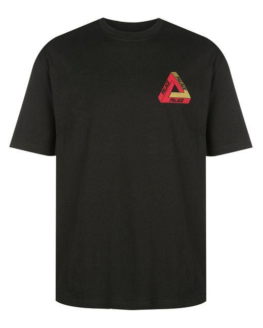 T-shirt con stampa di Palace in Black da Uomo