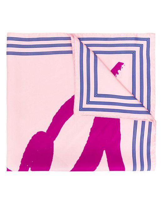KENZO | Multicolor Logo Print Scarf | Lyst