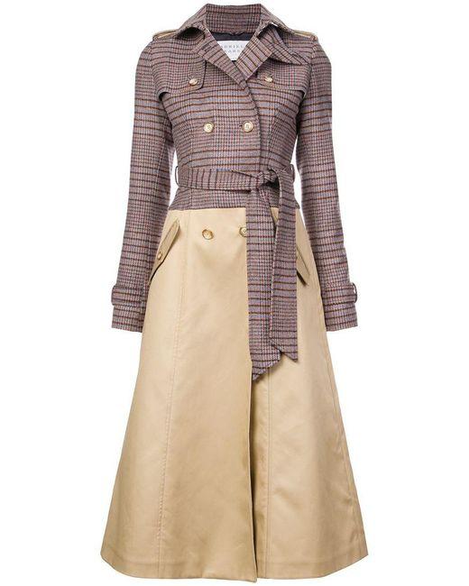 Gabriela Hearst - Brown Armonia Wool Blend Trench Coat - Lyst