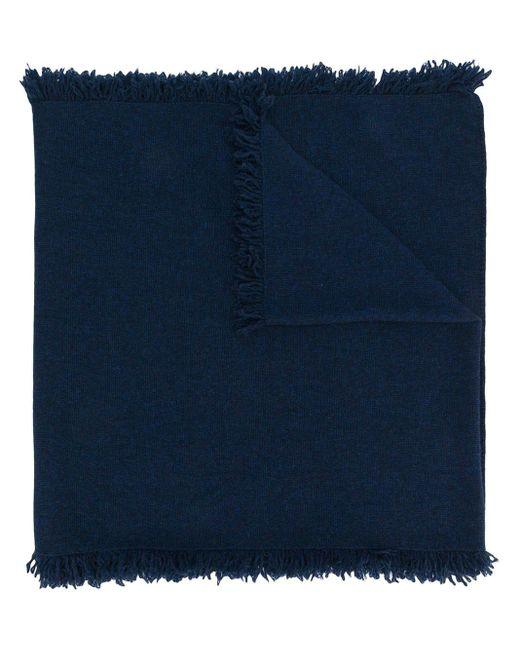 Pringle of Scotland カシミアスカーフ Blue