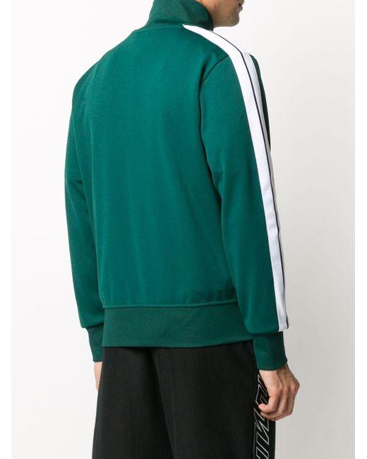 メンズ Palm Angels ロゴ トラックジャケット Green