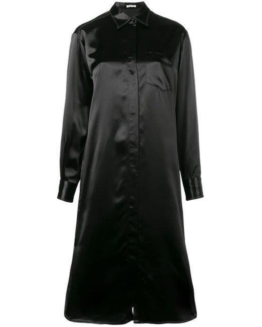 Bottega Veneta シャツドレス Black