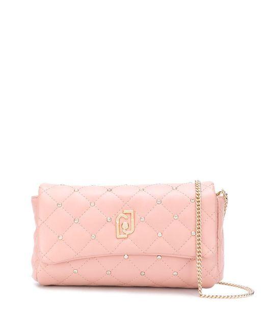 Liu Jo キルティング ベルトバッグ Pink