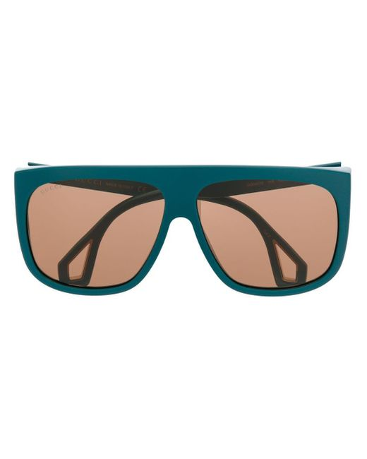 Gucci ダブル眼鏡フレーム Blue
