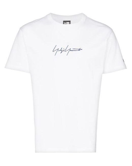 メンズ Yohji Yamamoto ロゴ Tシャツ White
