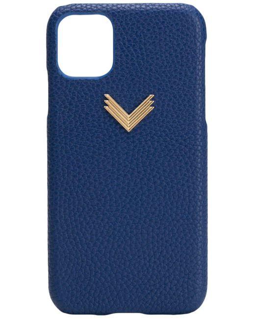 Manokhi X Velante Iphone 11 ケース Blue