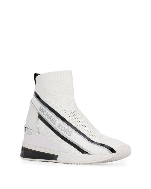 MICHAEL Michael Kors スニーカーブーツ White