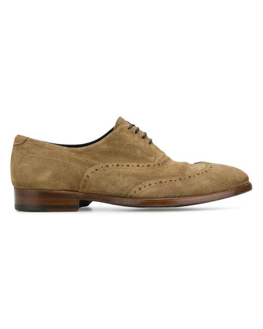 Alberto Fasciani - Brown 'Vulcano' Oxford-Schuhe for Men - Lyst