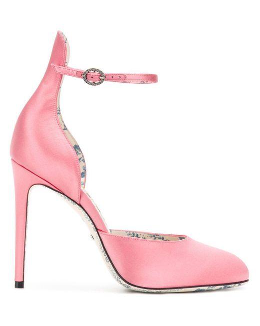 Gucci バックルパンプス Pink