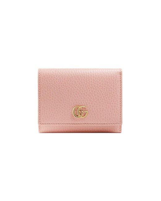 Gucci プチ マーモント 財布 Pink